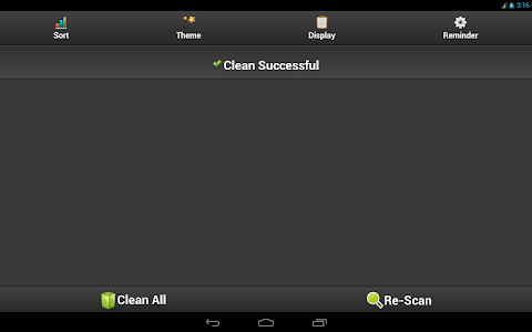 screenshot of Clean Cache - Optimize Support Android 6.0 & 7.0 version 2.5