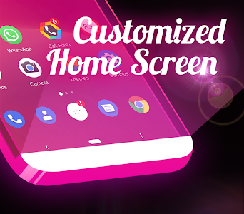 screenshot of Color Flash Launcher - Call Screen, Themes version 1.1.8