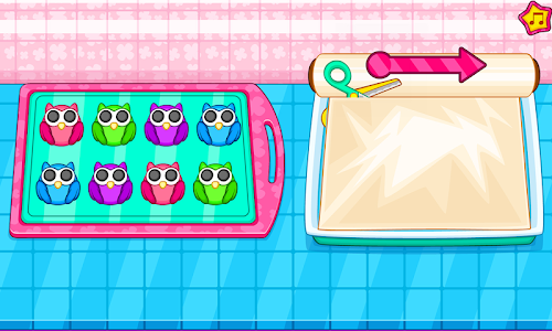 screenshot of Cook owl cookies for kids version 1.0.2
