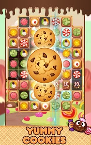 screenshot of Cookie Monsoon Jello - Match 3 Puzzle version 1.1