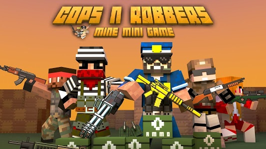 screenshot of Cops N Robbers - FPS Mini Game version 6.3.1
