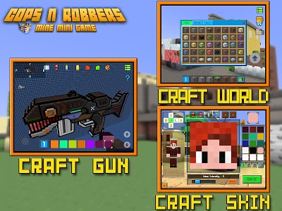 screenshot of Cops N Robbers - FPS Mini Game version 5.1.1