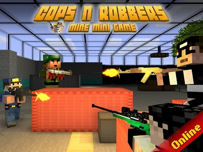 screenshot of Cops N Robbers - FPS Mini Game version 5.3.6