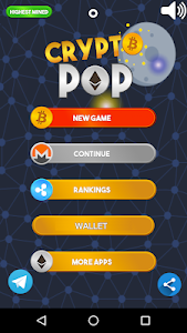 screenshot of CryptoPop - Earn Free ETH version 1.2.6