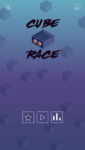screenshot of Cube Race Fun version 1.0