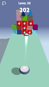 screenshot of Curling Disc version 1.0