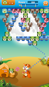 screenshot of Cute Dogs Bubble Shooter version 1.1.3
