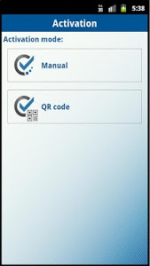 screenshot of Mobile Authenticator ES version 4.19.0