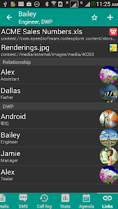 screenshot of DW Contacts & Phone & Dialer version 3.1.0.2