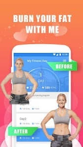 screenshot of Daily Fitness version 2.0.6