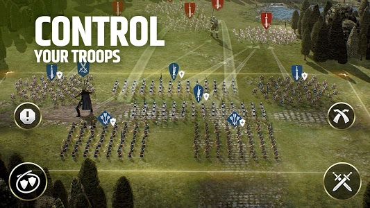 screenshot of Dawn of Titans - Epic War Strategy Game version 1.31.0