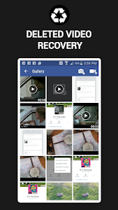 screenshot of Deleted Video Recovery app pro 2019 version 1.0