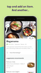 screenshot of Deliveroo: Restaurant Delivery version 3.3.2