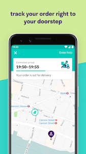 screenshot of Deliveroo: Restaurant Delivery version 3.18.1