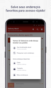 screenshot of Delivery Much - Delivery de Comida version 4.6.6
