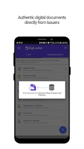 screenshot of DigiLocker– a simple and secure document wallet version 6.0.2