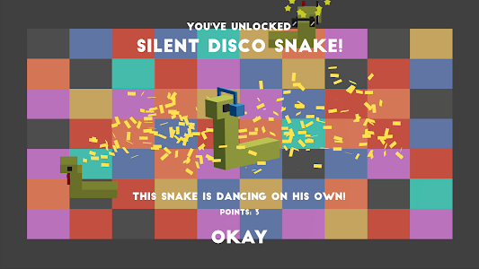 screenshot of Discosnakes version 1.0.0