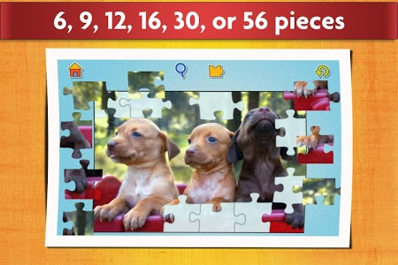 screenshot of Dogs Jigsaw Puzzles Game - For Kids & Adults ? version 18.2