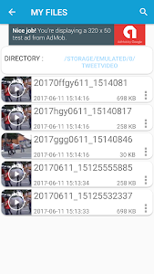 screenshot of Download Twitter Videos version 1.2.1