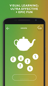 screenshot of Drops: Learn Hebrew language and alphabet for free version 32.4