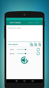 screenshot of English text to speech - speech to text version 1.1