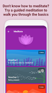 screenshot of Fabulous: Self Care version 3.56