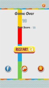 screenshot of Flappy Color Ball version 4.0