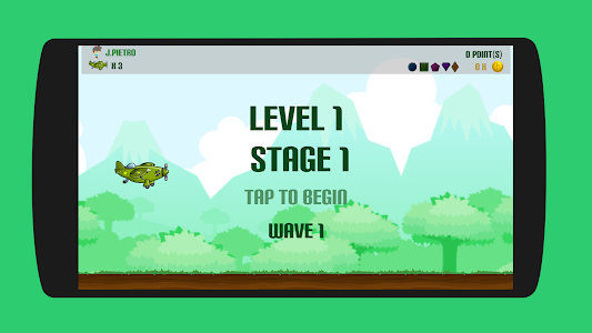 screenshot of Flappy flight version 1.8