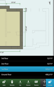 screenshot of Floor Plan Creator version 3.3.4