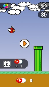 screenshot of Flying face - True blinking game version 1.3