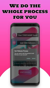 screenshot of FollowTok ? Free Fans and Followers for Tik Tok version 1.0