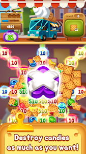 screenshot of Food POP : New puzzle gravity world(Food burst 2) version 1.0.23