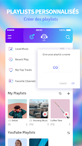 screenshot of Free Music - Music Player & MP3 Player & Music FM version 1.6
