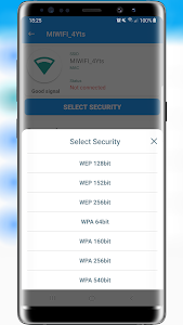 screenshot of Free Wifi Password Generator version v1.0.0.0.5