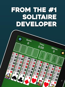 screenshot of FreeCell Solitaire version Varies with device
