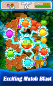 screenshot of Fruit Farm Fun - Tap 2 Hexa version 1.0001