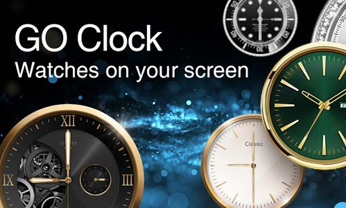 screenshot of GO Clock - Alarm Clock & Theme version 2.0.9.1