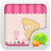 Download GO SMS Pro Pink Sweet theme 1.1 APK