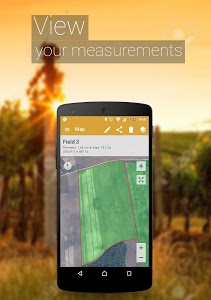 screenshot of GPS Fields Area Measure version 3.8.8