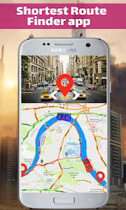 screenshot of GPS Navigation & Map Direction - Route Finder version 1.0.7