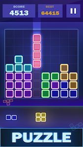 screenshot of Glow Puzzle Block - Classic Puzzle Game version 1.6.2
