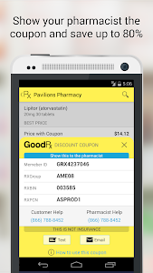 screenshot of GoodRx Drug Prices and Coupons version 1.0.11