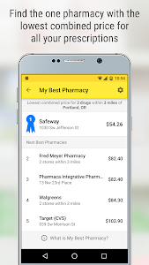 screenshot of GoodRx Drug Prices and Coupons version 5.8.0
