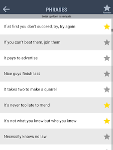 screenshot of Guess the Phrases, Proverbs & Idioms version 1.2.0
