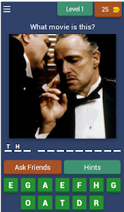 screenshot of Guess the movie v.2 version 3.1.8z