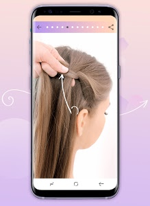 screenshot of Hairstyles step by step version 1.1