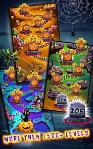screenshot of Halloween Witch Connect - Halloween games version 1.9.6