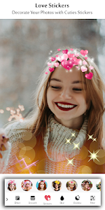 screenshot of Heart Crown Photo Editor - Live Face, Collage version 5.1.0