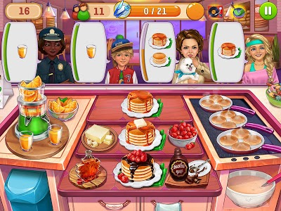 screenshot of Hell's Cooking — crazy chef burger, kitchen fever version 1.24