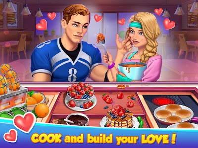 screenshot of Hell's Cooking: crazy burger, kitchen fever tycoon version 1.36